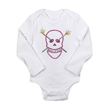 Born 2 knit Long Sleeve Infant Bodysuit
