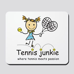 Tennis Junkie Mousepad