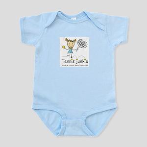 Tennis Junkie Infant Bodysuit