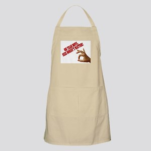 Oh Yeah Boys, Size Doesn't Ma BBQ Apron