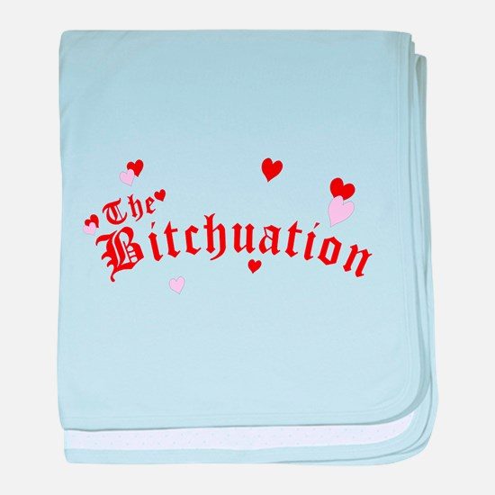 The Bitchuation baby blanket