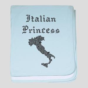 Italian Princess baby blanket