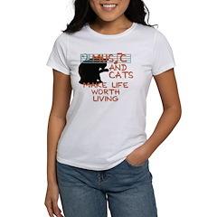 music and cats Women's T-Shirt
