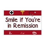 Smile if you're in Remission Mini Poster Print