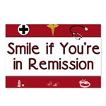 Smile if you're in Remission Postcards (Package of