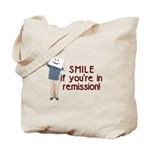 Smile if you're in Remission Tote Bag