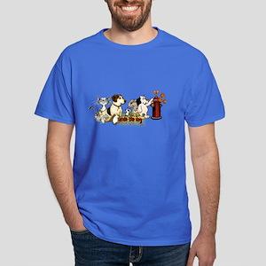 Arnie and Friends Dark T-Shirt