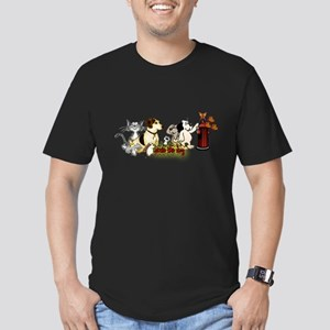 Arnie and Friends Men's Fitted T-Shirt (dark)