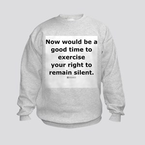 Remain Silent -  Kids Sweatshirt