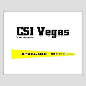CSI Vegas Small Poster