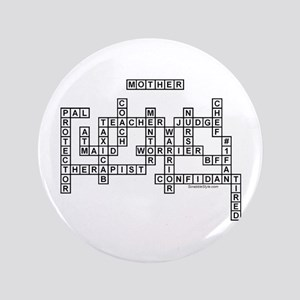 "Mother Scrabble-Style 3.5"" Button"