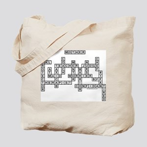 Mother Scrabble-Style Tote Bag