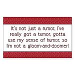 Cancer Poem Rectangle Sticker