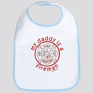MY DADDY IS A FIREMAN Bib