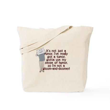 Cancer Poem Tote Bag