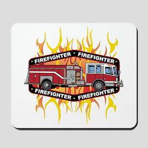Fire Engine Truck Mousepad