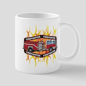 Fire Engine Truck Mug