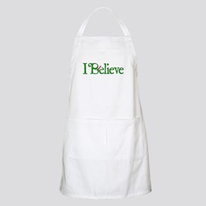 I Believe with Santa Hat Apron