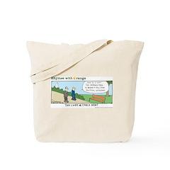 Cable News Tote Bag