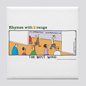 The West Wing Tile Coaster