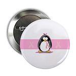 Pink Ribbon Penguin 2.25