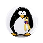 "Support Troops Penguin 3.5"" Button (100 pack)"