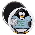 "volleyball bump set spike Pen 2.25"" Magnet (1"