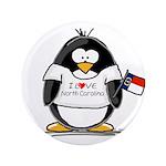 "North Carolina Penguin 3.5"" Button (100 pack)"