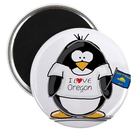 """Oregon Penguin 2.25"""" Magnet (100 pack)"""