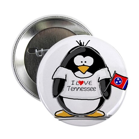 "Tennessee Penguin 2.25"" Button (100 pack)"