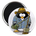"""Treasure Hunter Penguin 2.25"""" Magnet (100 pac"""