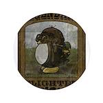 "Legendary Flighted Penguin 3.5"" Button (100 p"