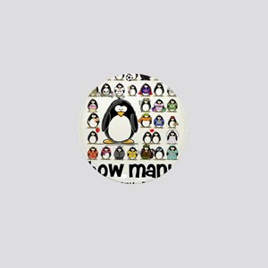 too many penguins Mini Button