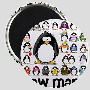 "too many penguins 2.25"" Magnet (10 pack)"