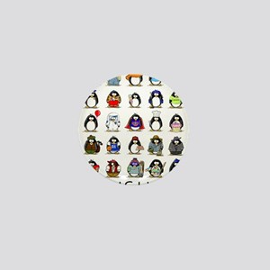 Lots of Penguins Mini Button (10 pack)