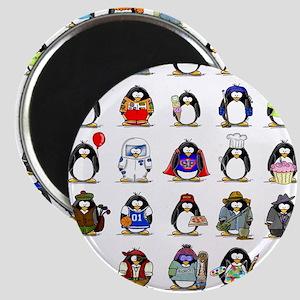"""Lots of Penguins 2.25"""" Magnet (10 pack)"""