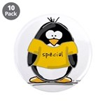 """Special penguin 3.5"""" Button (10 pack)"""