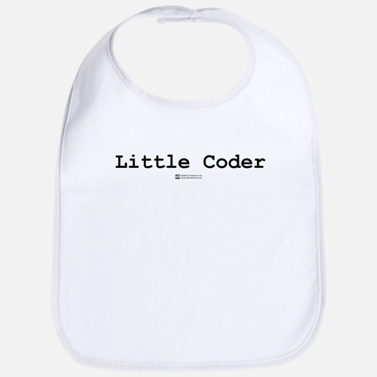 Little Coder -  Bib