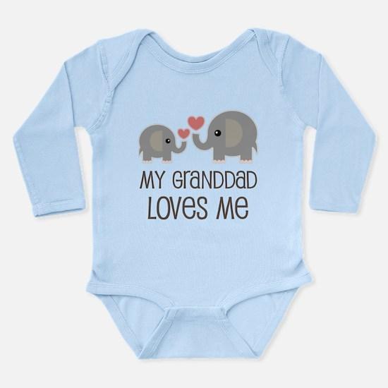 Granddad Loves Me Grandson Body Suit