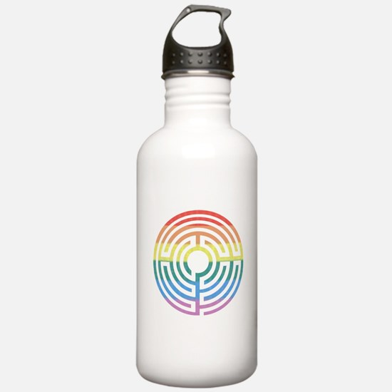 Rainbow Labyrinth Water Bottle