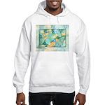 Early Frost Watercolor Hooded Sweatshirt