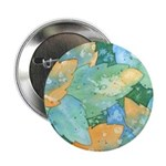 Early Frost Watercolor Button