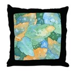 Early Frost Watercolor Throw Pillow