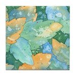 Early Frost Watercolor Tile Coaster