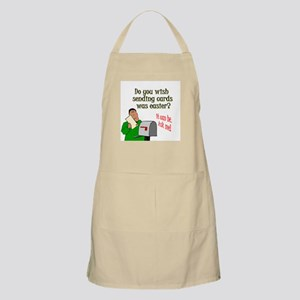 Easy Cards Apron