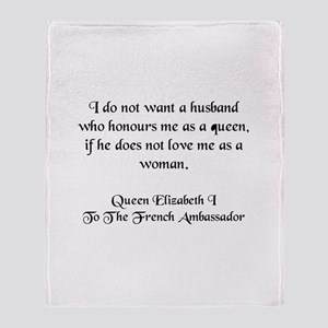 Quote 5 Throw Blanket