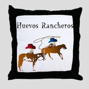 Huevos Rancheros Throw Pillow