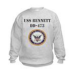 USS BENNETT Kids Sweatshirt