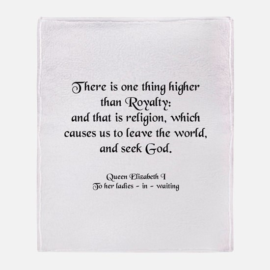 Quote 4 Throw Blanket