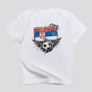 Soccer Fan Serbia Infant T-Shirt